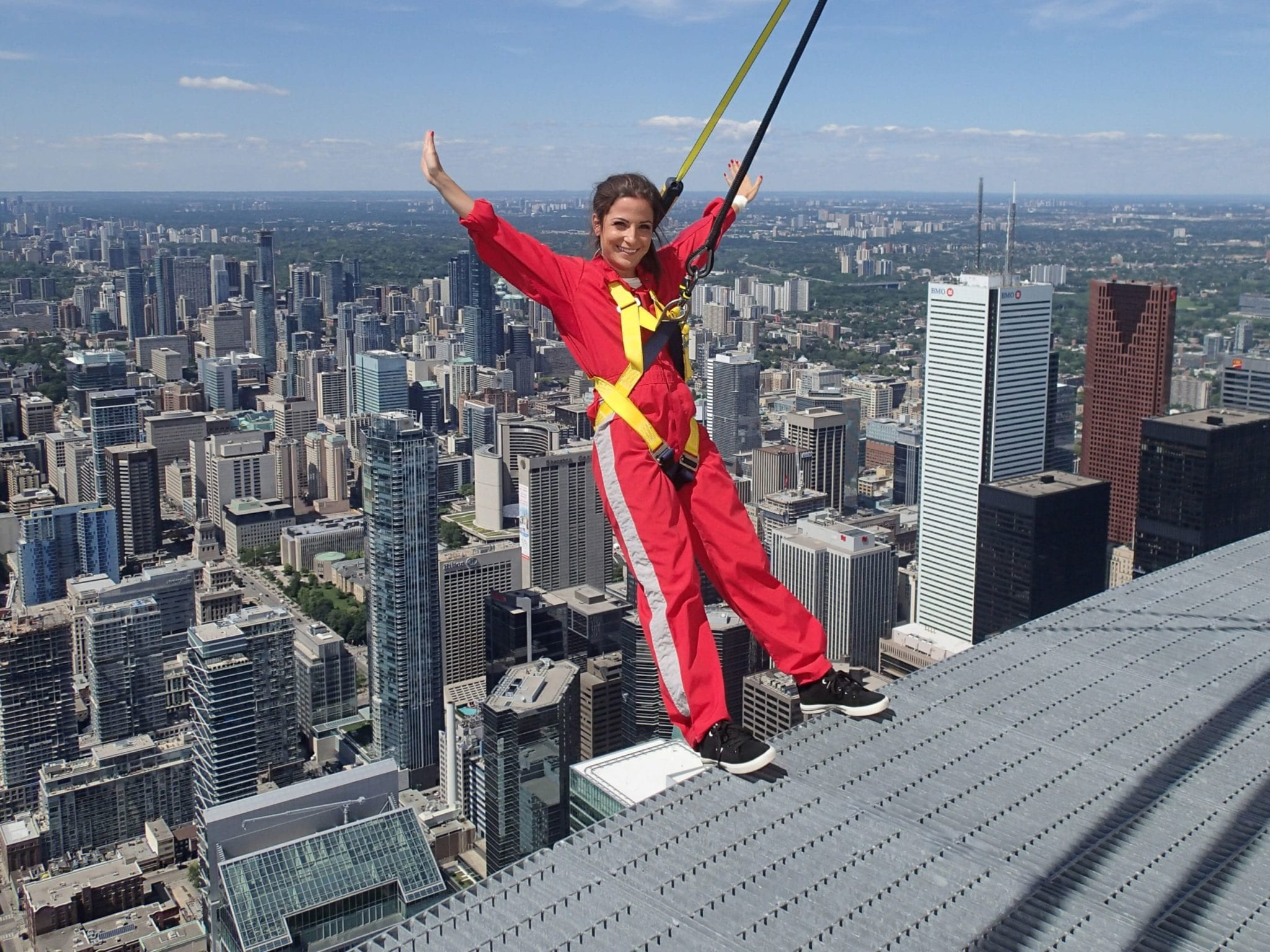 Moriya at the EdgeWalk