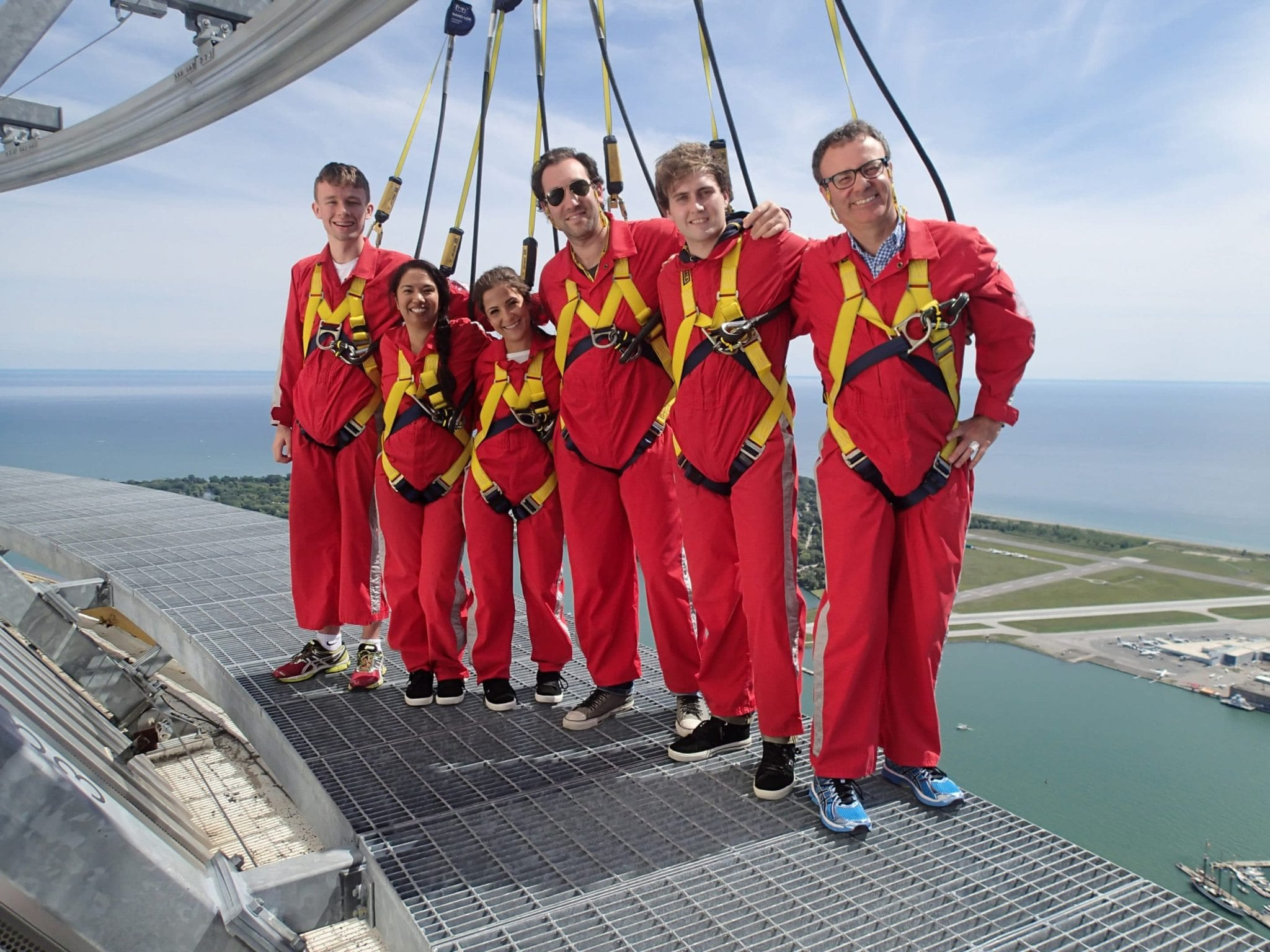 Stafflink at the EdgeWalk